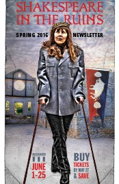 Richard 3 Spring 2016 Newsletter Cover