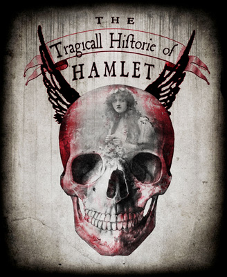 Stripped Down Hamlet Production Poster