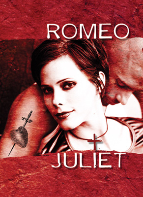 Stripped Down Romeo and Juliet Production Poster