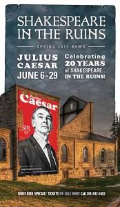 Julius Caesar Spring 2013 Newsletter Cover
