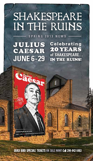 Julius Caesar Spring 2013 Newsletter Cover