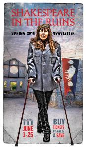 Richard 3 Spring 2016 Newsletter Cover