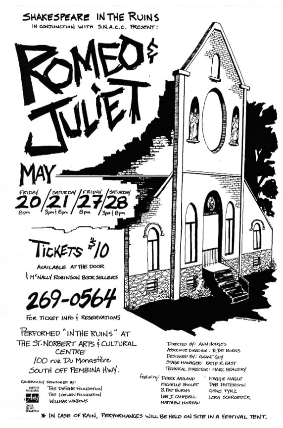 Romeo and Juliet Production Poster 1994